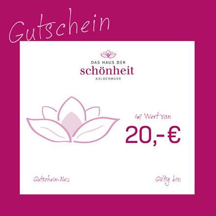 Gutschein 20 Euro