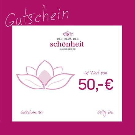 Gutschein 50 Euro
